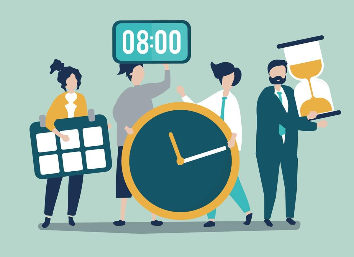 Gestión del tiempo en el trabajo y los beneficios para tu salud mental